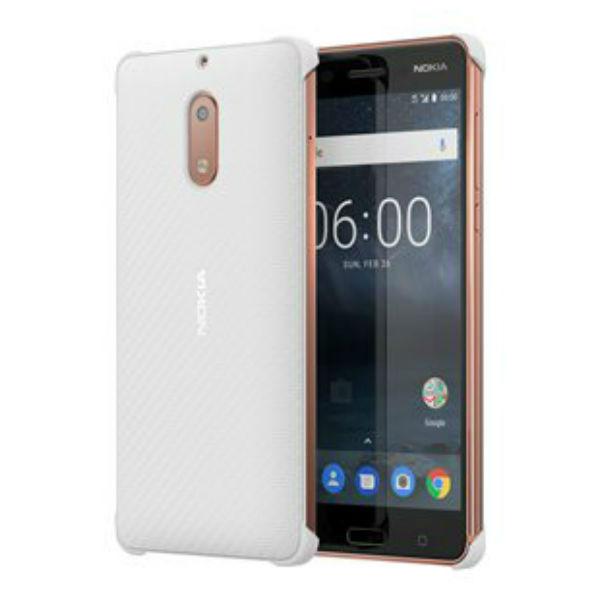 Nokia 5 Carbon Cover Blanc