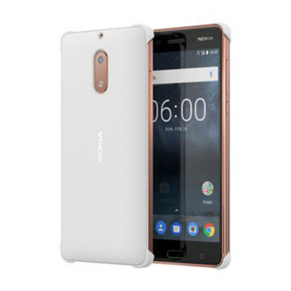 Nokia 6 Carbon Cover Blanc