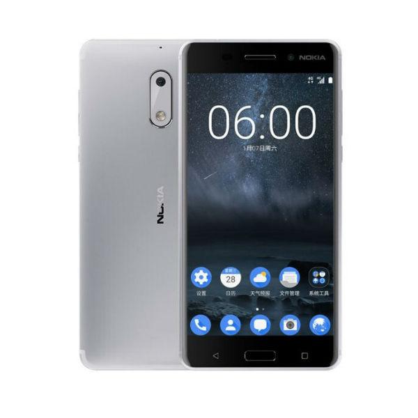 Nokia 6 Dual Sim Argent