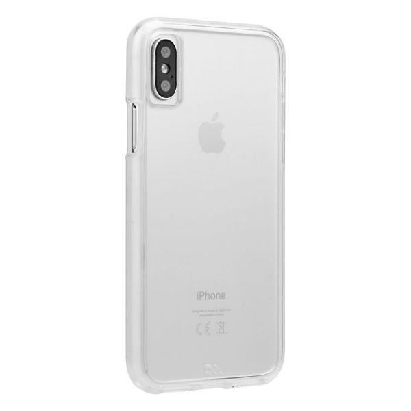 Case Mate Back-Cover Transparente iPhone X