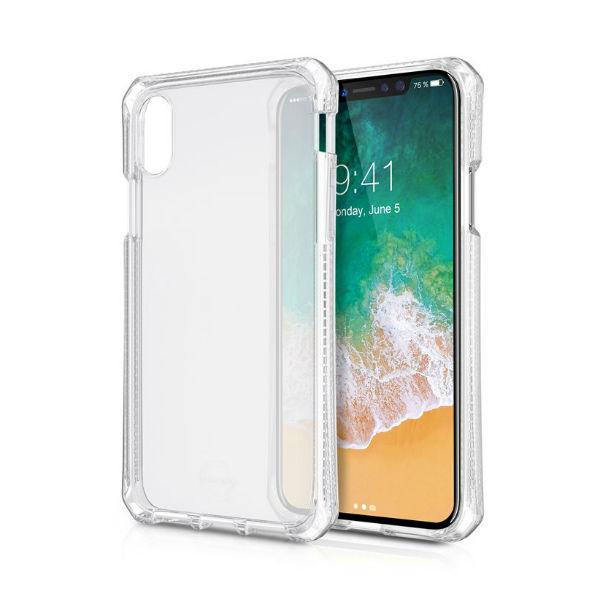 Itskins Back-Cover transparent iPhone X