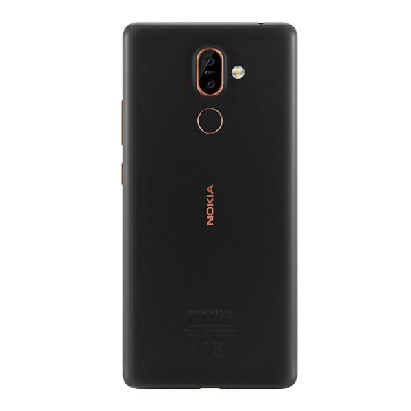Nokia 7 Plus Noir Back